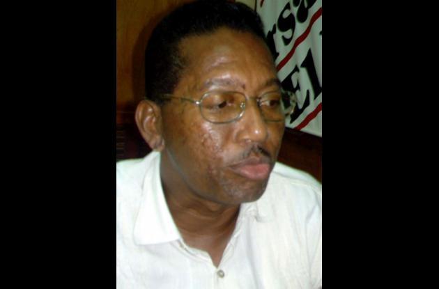 Víctor Pérez Moguea, consultor departamental afrocolombiano.