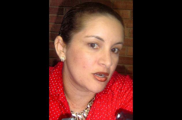 Mónica Jiménez Serpa, coordinadora en Sucre del Programa de DD.HH.