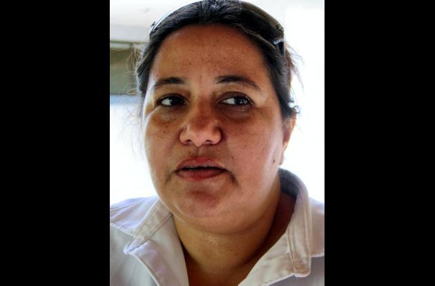 María Hernández Uparela, coordinadora de Promoción y Prevención.