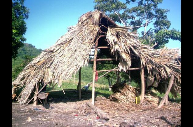Los habitantes de las zonas rurales de los montes de María esperan que las administraciones locales desarrollen planes de vivienda.