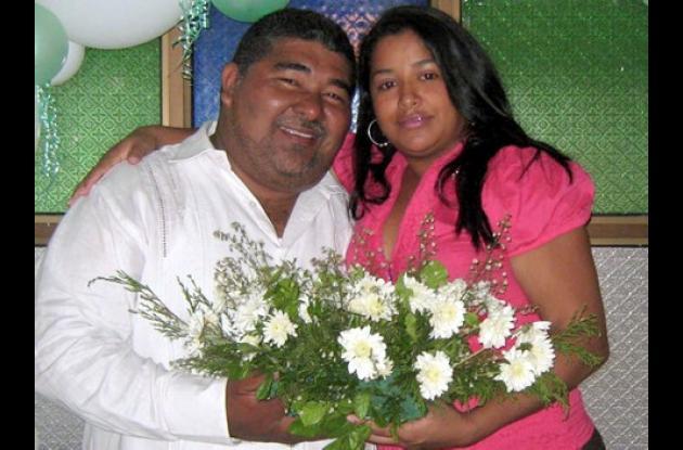 Argemiro Montes Lambraño y Saida Sofía Barrera Ortega.