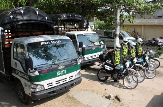 La Policía dispuso de la logística necesaria en Tolú para empezar a implementar el sistema de seguridad por cuadrantes, al igual que en Sincelejo.