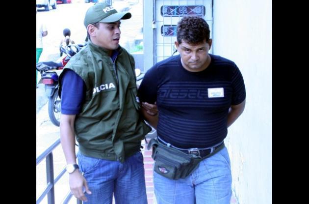 Presunto extorsionista capturado en Morroa, Sucre.