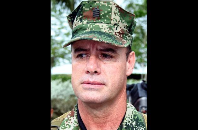 Coronel César Augusto Cardona Ortiz, comandante IBIM.