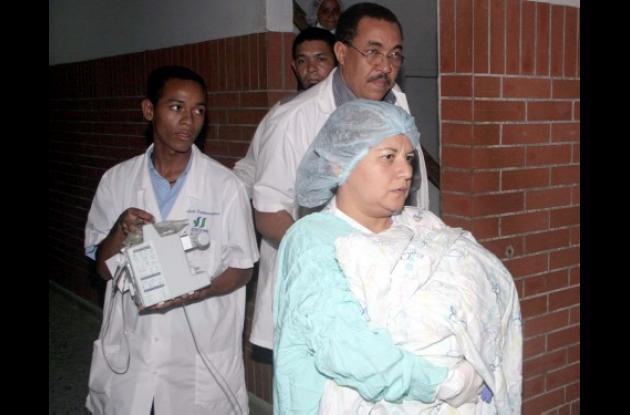 Los bebés fueron atendidos en el Hospital Universitario de Sincelejo y de allí remitidos de urgencia a una clínica de Barranquilla, donde preparan una intervención de separación.