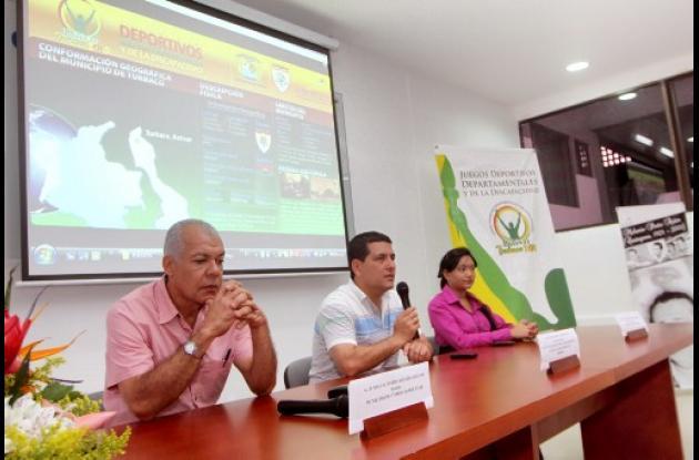 Juegos Deportivos Departamentales y de la Discapacidad de Turbaco.