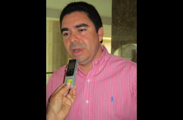 Carlos Rosado Zúñiga, director del Invías.