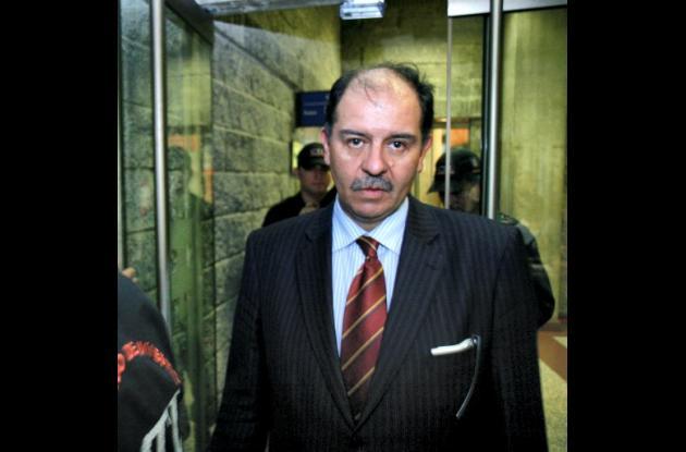 José Miguel Narváez, exsubdirector del DAS.