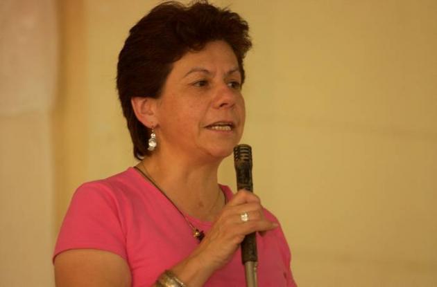 Patricia Buriticá, integrante de la Comisión Nacional de Reparación y Reintegrac