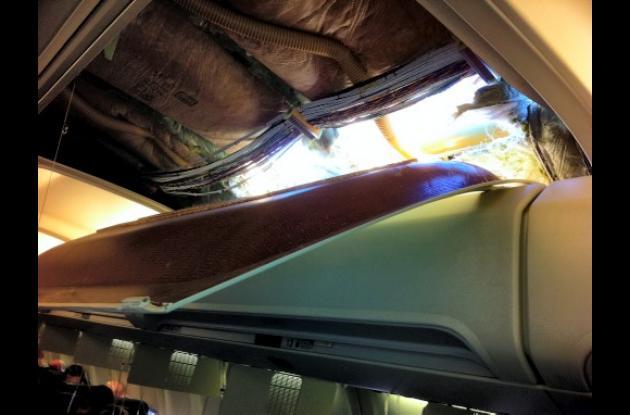Grietas en aviones de Southwest Airlines.