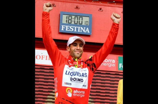 Vincenzo Nibali, campeón 2010 de la Vuelta a España, buscará refrendar el título