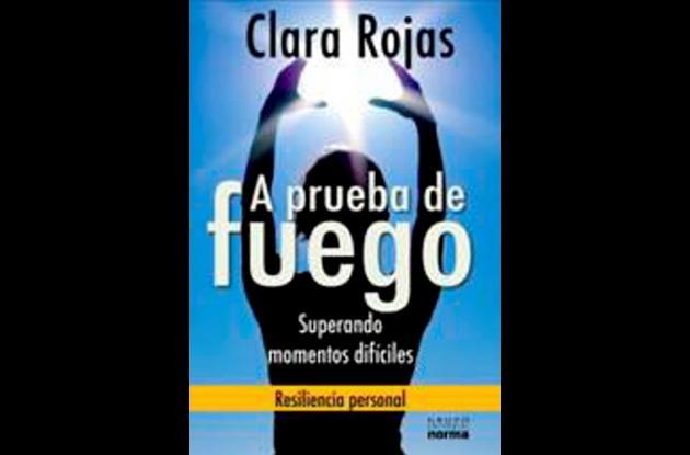 Clara Rojas lanza libro.