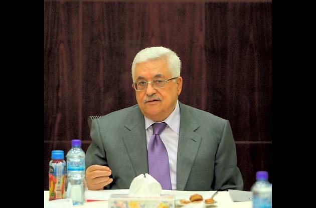 Mahmud Abas, presidente palestino.