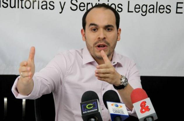 Abelardo de la Espriella, abogado de la familia Ceballos