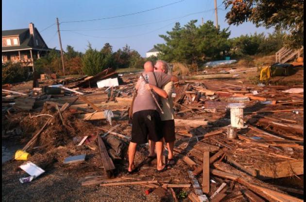 Los costos del paso de huracan Irene por el este de Estados Unidos