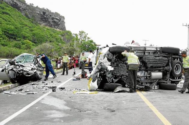 El fatal accidente ocurrió a las 11 de la mañana de ayer, en el kilómetro 21 de