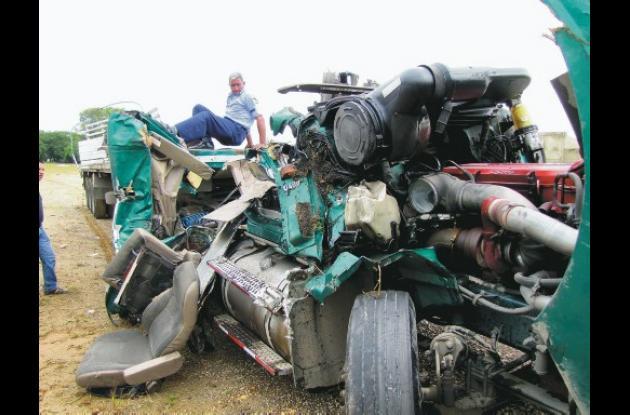 El accidente ocurrió en la madrugada de ayer, entre el sector Cruz del Viso y Ga