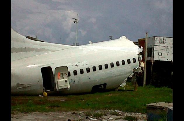 El accidente del avión de Aires en San Andrés fue por fallas humanas.