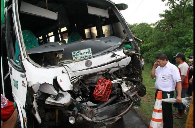 Accidente de tránsito en La Cordialidad.