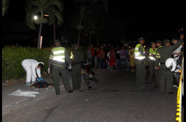 Manuel del Cristo Barboza Padilla murió arrollado por una motocicleta.