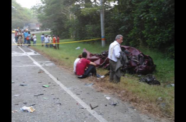 Accidente de tránsito en carreteras de Córdoba deja dos personas muerta.