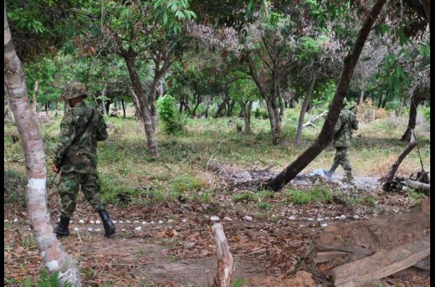 Investigan el accidente en el que murió un soldado por explosión de granada