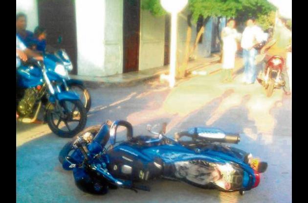 Accidentes de tránsito en Sahagún.
