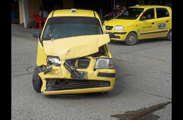 Accidente de tránsito en Montería.