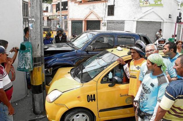 Accidentes de tránsito en Sincelejo.