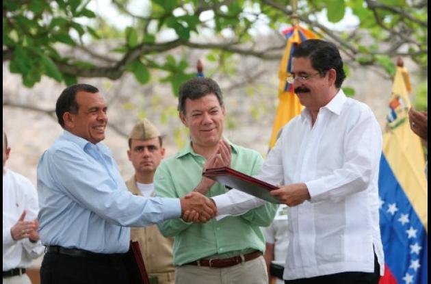 En Cartagena hubo reconcilio de hondureños.