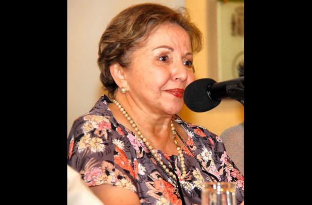 Adelaida Sourdís, historiadora.