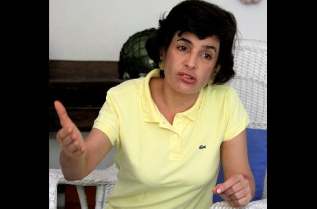 Adelina Covo, exaspirante a la Alcaldía de Cartagena.