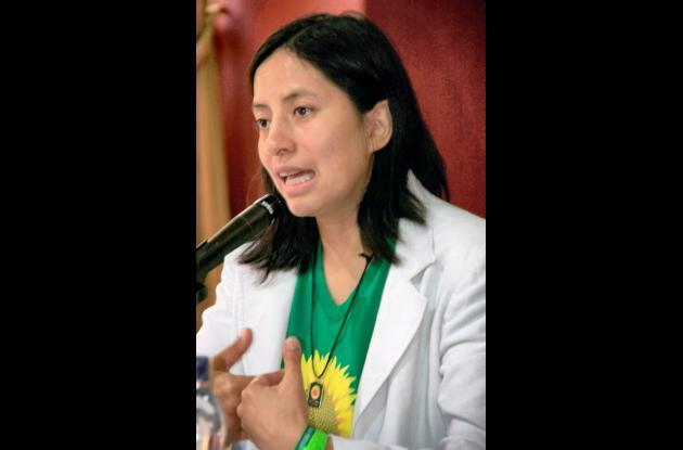 Adriana Córdoba partido verde