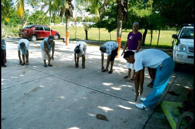 programa de recreación y deporte para el adultomayor en Cereté - Córdoba.