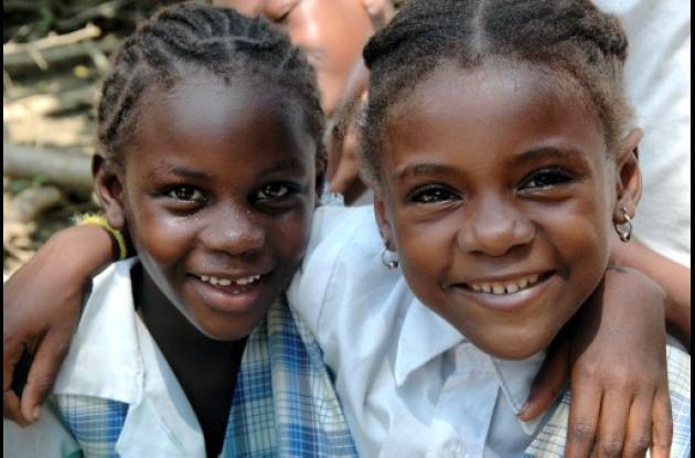 Niñas Afrodescendientes