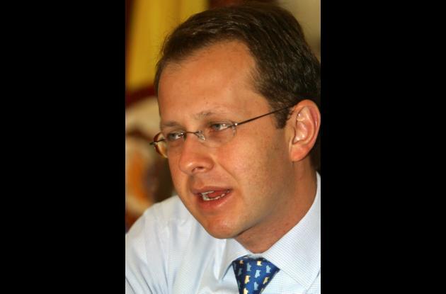 Andrés Felipe Arias, exministro de Agricultura.