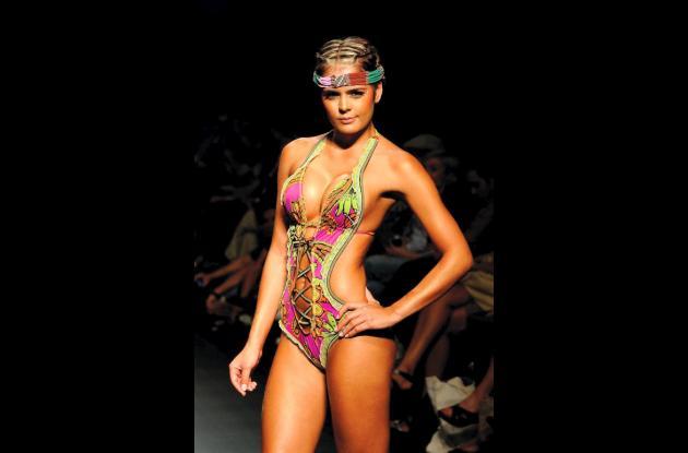 El año pasado la marca de vestidos de baño Agua Bendita estuvo presente en Colom
