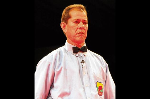Uriel Aguilera, uno de los grandes del arbitraje del boxeo.