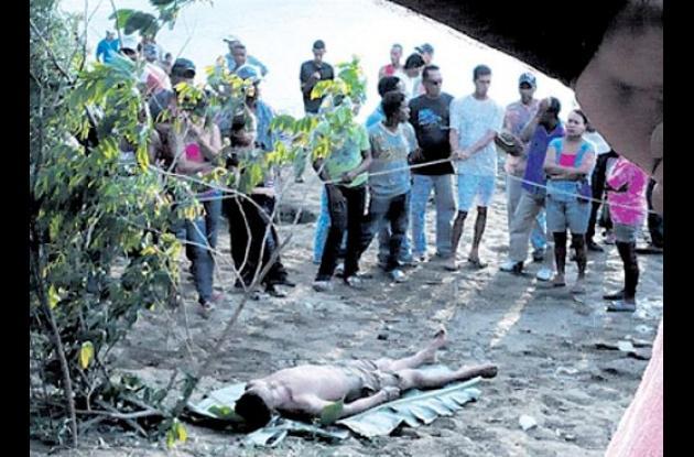 uno de los estudiantes que se ahogó en el río Sinú.