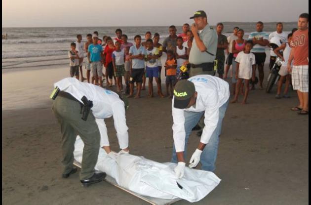 Erwin Hernández, de 27 años, se ahogó en el mar, frente a La Boquilla. El joven