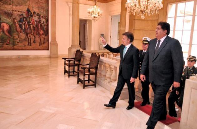 Visita oficial del presidente de Perú a Colombia.