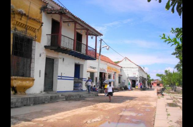 Construcciones de albarrada en Mompós.