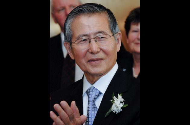 El expresidente peruano Alberto Fujimori.