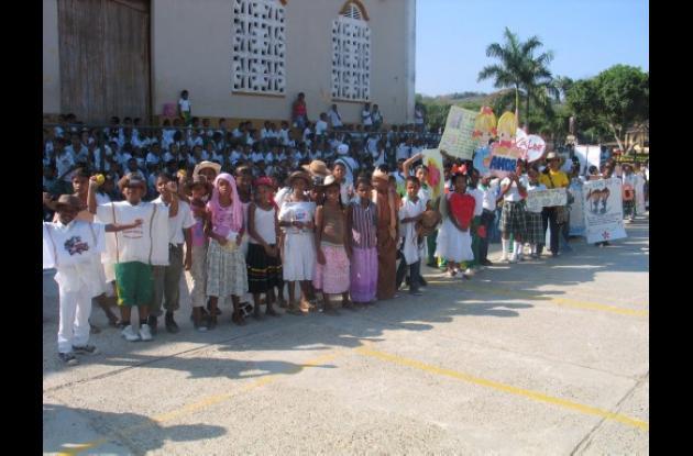 Lanzan proyecto de valores en Villanueva.