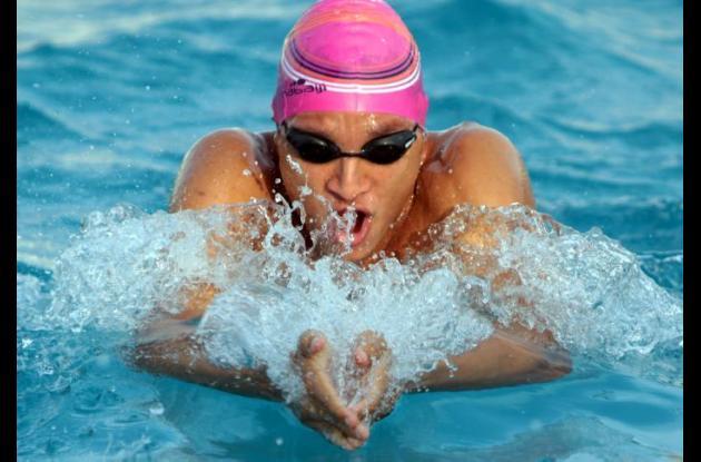 Alberto Morales, nadador cartagenero, que representará a Colombia en los Juegos Bolivarianos.