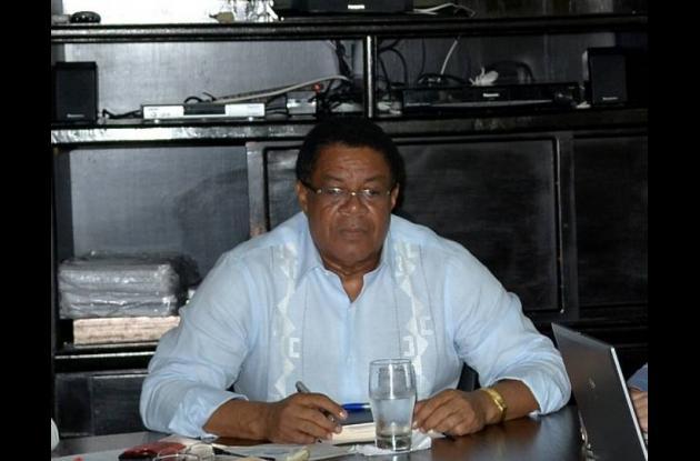 El alcalde Campo Elías Terán Dix
