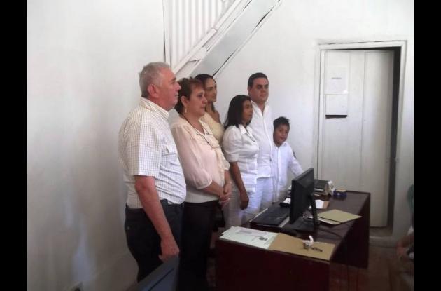 Javier Angulo Romero se posesionó como nuevo alcalde de El Guamo