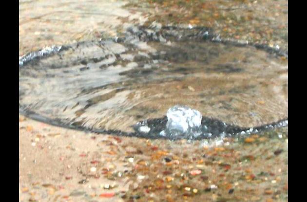 Alcantarilla rebosada en Mompox.