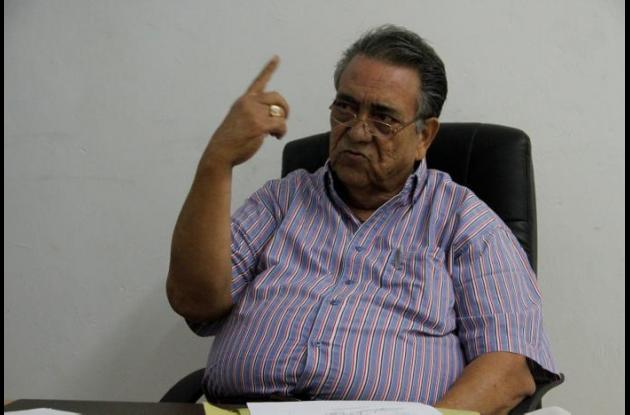 Alejandro Arrázola Carrasquilla, alcalde de Calamar.