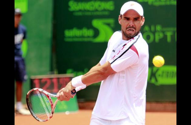 Alejandro Falla, tenista colombiano.